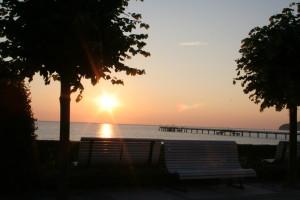 Binz Sonnenaufgang
